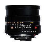 Leica summicron 35 mm   F/2  Lens For Leica