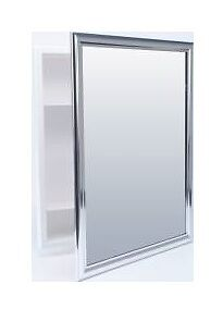 chrome medicine cabinet new chrome bathroom recessed medicine cabinet 15 quot w 19 quot h ebay 13588