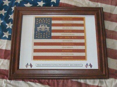 35 Star US Civil War Flag......69th Pennsylvania Irish