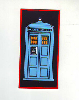 DOCTOR WHO BALLY ORIGINAL NOS PINBALL MACHINE PROMO STICKER DECAL TARDIS 1992