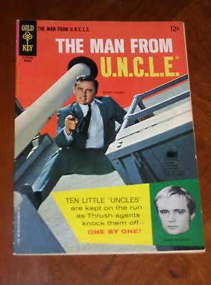 The Man From Uncle  5  1966  F Vf Cond  Photo Covers