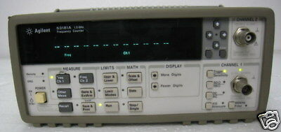 Hp Agilent 53181a Frequency Counter 1.5 Ghz 10 Digit