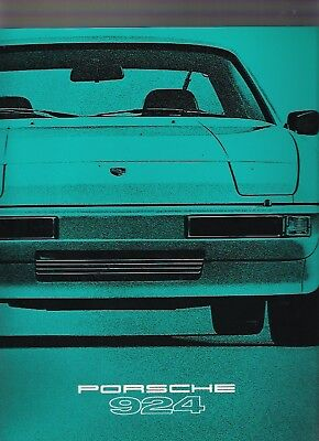 PORSCHE 924 Prestige Brochure 1979 MY jm