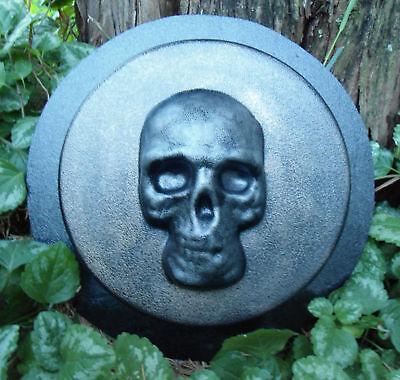 Gostatue skull plastic mold concrete casting mold plaster mould halloween