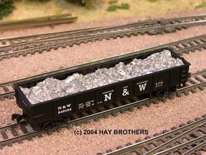 LOOSE-SCRAP-ALUMINUM-Load-for-ATLAS-42-foot-Gondolas-also-fits-Bachmann-42