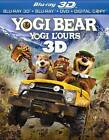 Yogi Bear (Blu-ray Disc, 2011, 3-Disc Set, Canadian; French; 3D)
