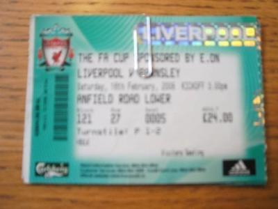 16/02/2008 Ticket: Liverpool v Barnsley [FA Cup] (Folde