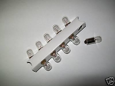 ampoule 6 volt 4 watt cyclomoteur lot de 10 lampes BA9S