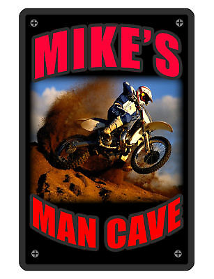 Personalized Man Cave Sign Printed With Your Name Custom Signs Made For Youdirt2
