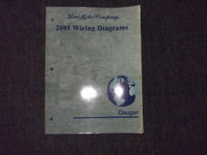 2001 mercury cougar electrical wiring diagrams manual ebay. Black Bedroom Furniture Sets. Home Design Ideas