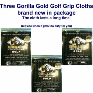 gorilla gold grip enhancer golf