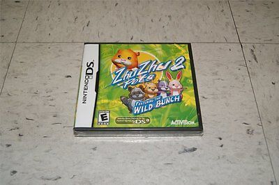 Zhu Zhu Pets 2 Featuring The Wild Bunch Nintendo Ds
