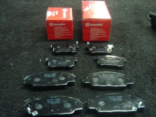 LEXUS IS200 1999 ON BREMBO FRONT REAR BRAKE PADS NEW