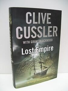 Clive-Cussler-1st-edition-Lost-Empire-2010