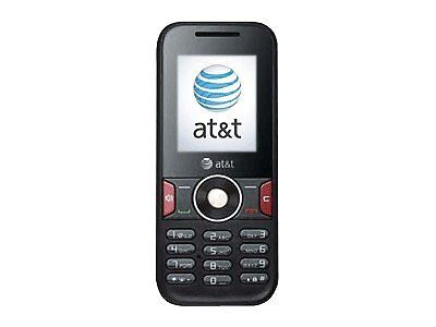 Huawei U2800A - Black (AT&T) Cellular Phone