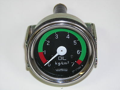 Mahindra Tractor Mechanical Oil Pressure Gauge -5851 -4036