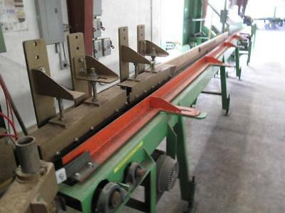 8x20 Powered Speed Up Infeed Belt Conveyor