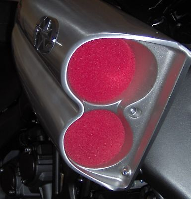 Star Vmax, Yamaha Vmax: V-max red Scoop Pre-filter/bug Filters