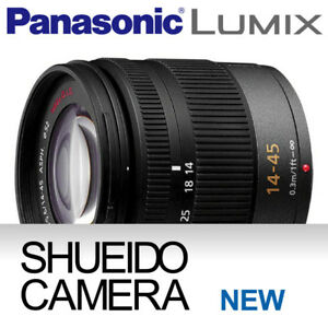 NEW PANASONIC LUMIX G 14-45mm F/3.5-5.6 F3.5-5.6 LENS