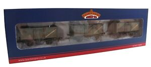 37-225V Bachmann 16T Mineral Wagons Grey Weathered TMC Limited Edition