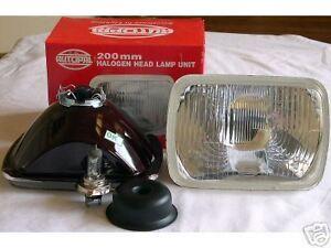 200mm h6054 h4 euro conversion headlights kit. Black Bedroom Furniture Sets. Home Design Ideas
