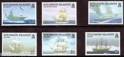 Solomon Islands Seafaring & Exploration Set Mint NH (Ships)