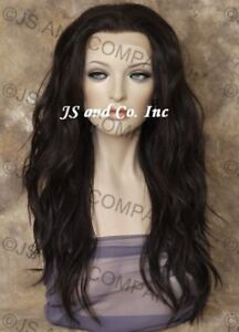 Heat-OK-Lace-Front-Wig-Long-Wavy-Dark-Brown-Layered