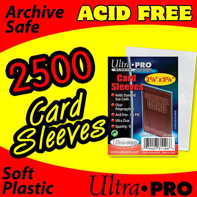 2500 Card Sleeves - Ultra Pro -soft Penny Sleeves 81126
