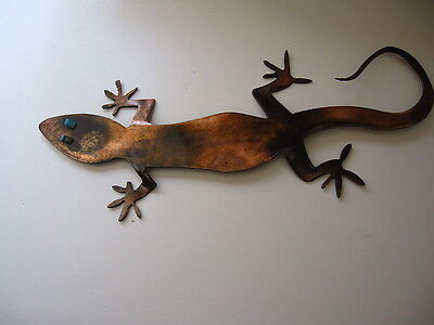 GECKO METAL WALL ART DECOR3d Single  ...