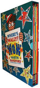 Where's Wally? WOW 6 Books Box Set Martin Handford NEW