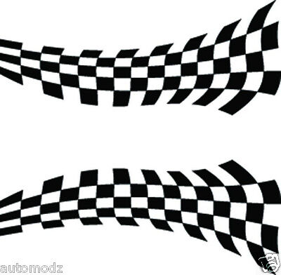 Rc Airbrush Stencil's / Paint Mask's Twisted Checkers (single Use Only)