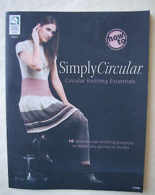 Simply Circular Knitting Book 10 Patterns