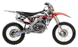 CHAD REED TEAM TWO TWO MOTORSPORTS CRF450 HONDA GRAPHICS KIT ( 2002 2003 2004 )