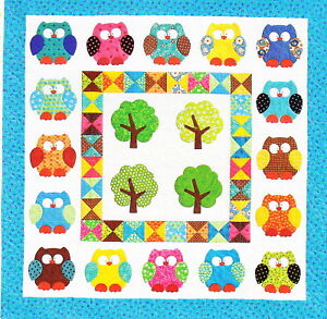 Cute Owl Applique | Cheap Curtain Sale