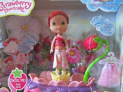 "Strawberry Shortcake Twirling Flower Fashions Doll 6"" Toys"