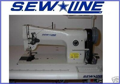 SEW LINE SL-206-RB ALL-NEW LEATHER WALK FT 110 V SERVO INDUSTRIAL SEWING MACHINE