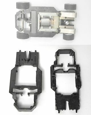 2 1982 Tyco Curve Hugger Hp-7 Slot Car Chassis Shells