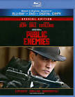 Public Enemies (Blu-ray/DVD, 2011, 2-Disc Set, With Tech Support for Dummies Trial)