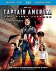 Captain America: The First Avenger (Blu-ray/DVD, 2011, Canadian; Includes Digital Copy)