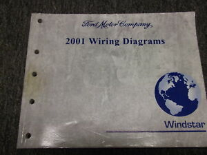 2001   FORD      WINDSTAR   Van   Wiring   Electrical   Diagrams   ServiceShopRepairManualEWD