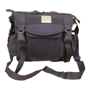 Mens-Travel-Army-Combat-Canvas-Messenger-US-Shoulder-Satchel-Sports-Bag-Black