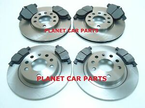 VAUXHALL-VECTRA-C-02-09-SIGNUM-FRONT-REAR-BRAKE-DISCS-PADS-CHECK-REAR-PADS