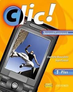Clic!: Clic 1 Students' Book Plus Renewed Framework Edition, Bourdais, Dani�le