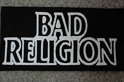 Bad Religion Punk Rock Ramones  Adicts Dead Kennedys Cloth Patch (CP110)