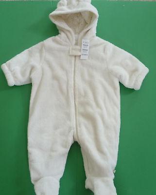 Children's Place Baby Fleece Snowsuit Size 3-6 Months