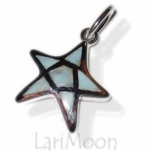Larimar-Sterling-Silver-David-Star-Pendant-Charm