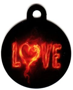 Engraved-Pet-ID-Tag-Round-Burning-Love-Awesome-Tag