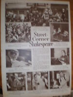 Article London Amateur Shakespeare Overian Players 1935 -  - ebay.co.uk