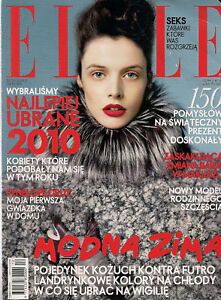 Elle 12/2010 in: Penelope Cruz, Kate Moss,Ania Jozwiak, Lady Gaga - <span itemprop=availableAtOrFrom>Bialystok, Polska</span> - Elle 12/2010 in: Penelope Cruz, Kate Moss,Ania Jozwiak, Lady Gaga - Bialystok, Polska