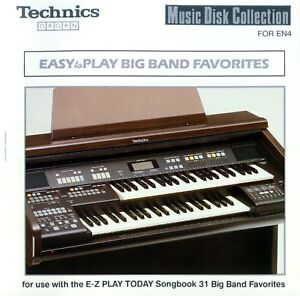 Easy-To-Play-BIG-BAND-FAVOURITES-floppy-disk-SET-for-Technics-EN3-EN4-organ